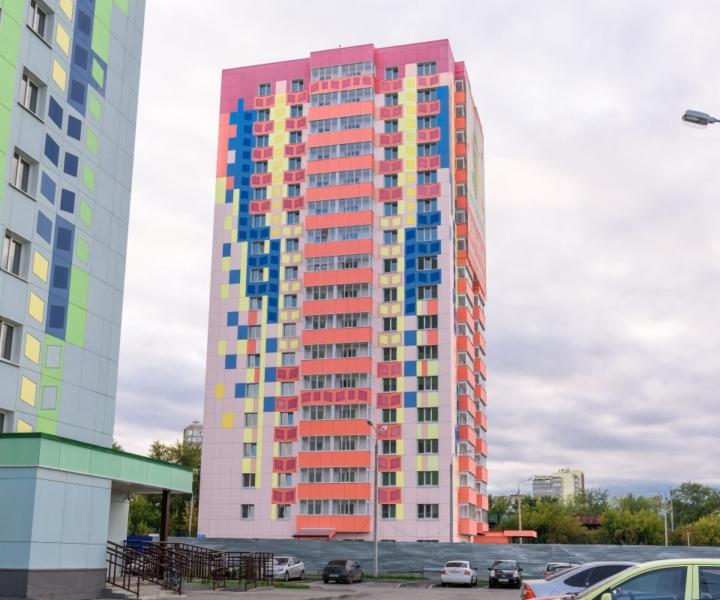 Закончено строительство жилого дома в Перми