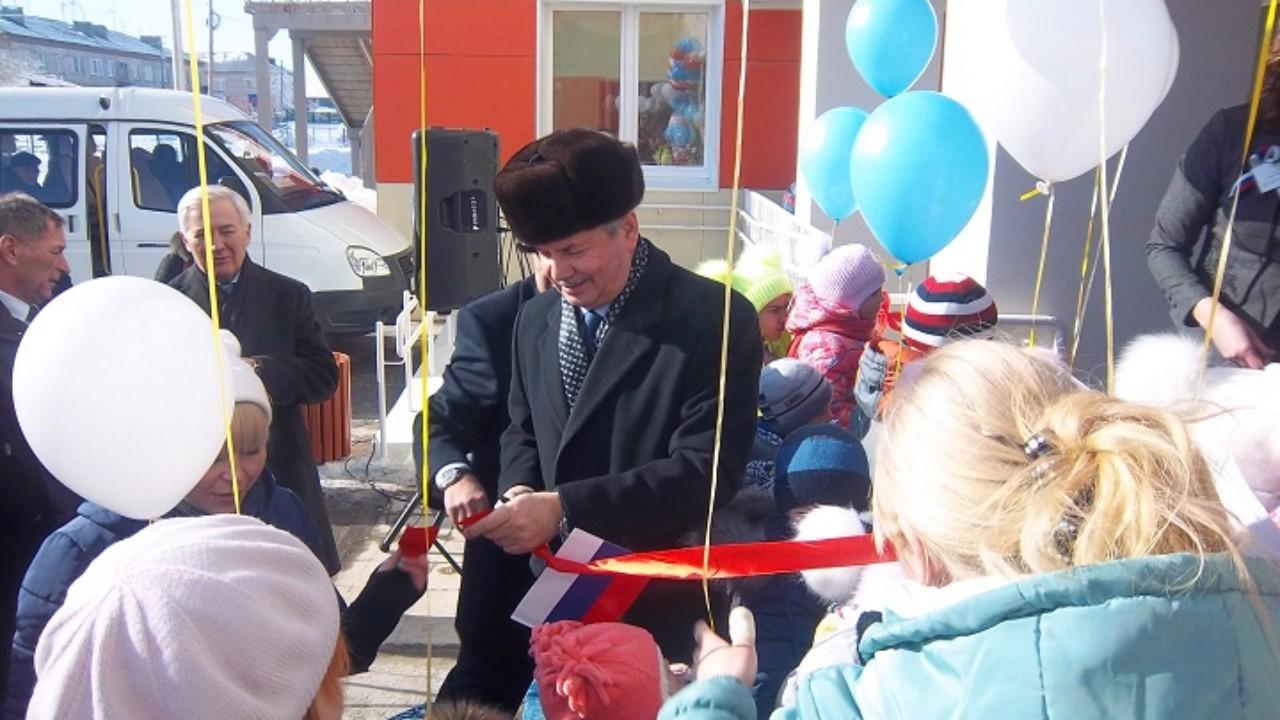 Открытие нового корпуса в детском саду «Рябинка» в Верхнеуральске